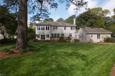 Norfolk Single Family Home For Sale: 6064 Newport Pt