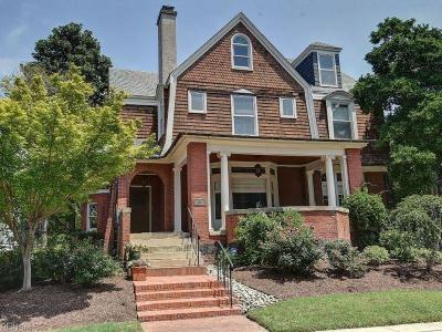 Norfolk Single Family Home For Sale: 536 Redgate Ave