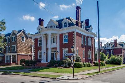 Norfolk Single Family Home For Sale: 631 Westover Ave