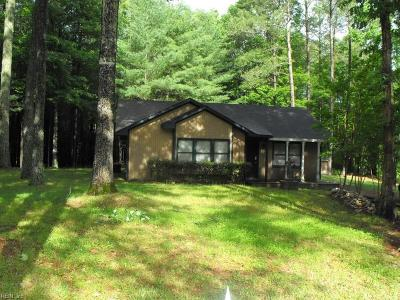 Gloucester Single Family Home Under Contract: 8756 Poplar Springs Dr
