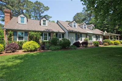 Portsmouth Single Family Home Under Contract: 4612 Norman Rd