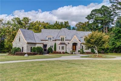 Suffolk, York County Single Family Home For Sale: 4200 Lake Point Rd