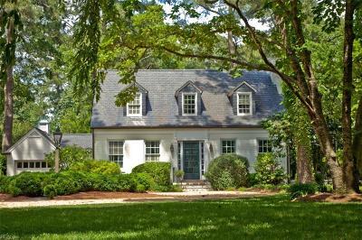 Newport News Single Family Home For Sale: 802 Riverside Dr