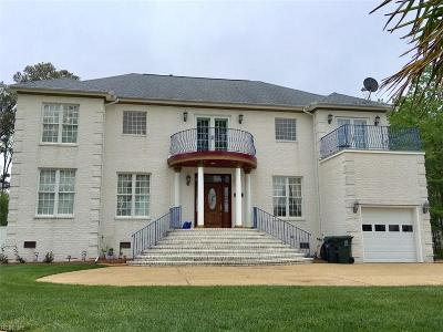 Poquoson Single Family Home For Sale: 195 Beach Rd