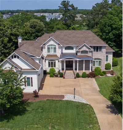 Suffolk Single Family Home For Sale: 6526 Harbour Pointe Dr