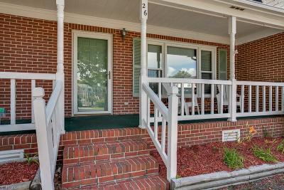 Poquoson Single Family Home For Sale: 26 W Wainwright