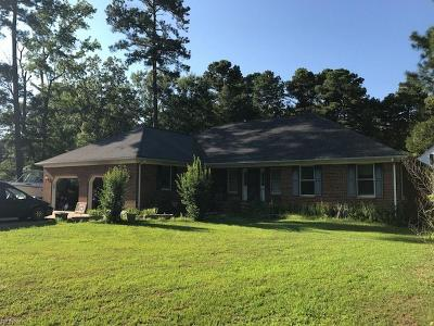 Hayes Single Family Home For Sale: 8091 Guinea Rd