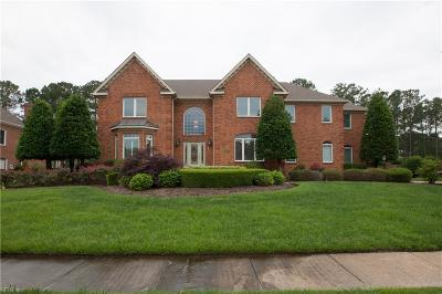 Chesapeake Single Family Home Under Contract: 1136 Masters Row