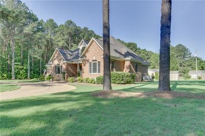 York County Single Family Home Under Contract: 1805 Calthrop Neck Rd