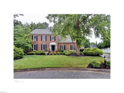 Newport News Single Family Home Under Contract: 4 Katies Cir