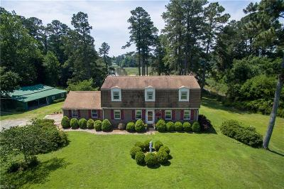 Isle of Wight County Single Family Home For Sale: 15457 Gayle Way