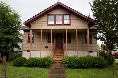 Poquoson Single Family Home For Sale: 1325 Poquoson Ave