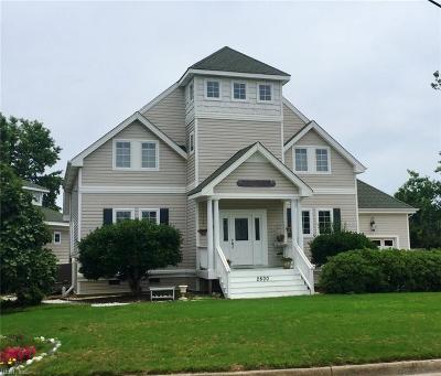 Sandbridge Beach Single Family Home For Sale: 2800 Wood Duck Dr