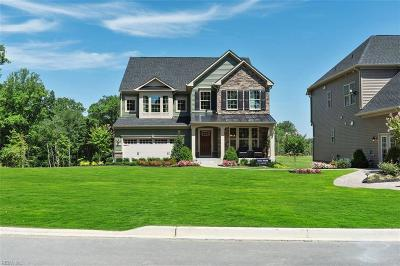Newport News Single Family Home Under Contract: 202 Pintail Path