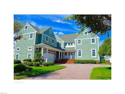 Norfolk Single Family Home Under Contract: 4400 East Beach Dr
