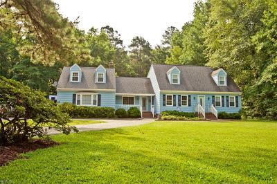 Hayes Single Family Home Under Contract: 2655 Low Ground Rd