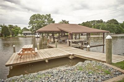 Hayes Single Family Home Under Contract: 8583 Little England Rd