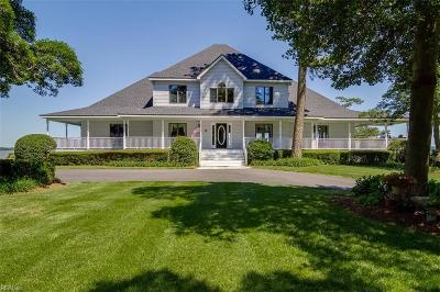 Suffolk, York County Single Family Home For Sale: 1472 Bridge Point Trl