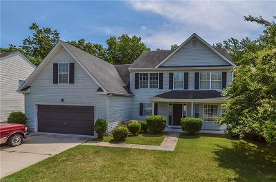 Isle of Wight County Single Family Home Under Contract: 23219 Spring Crest Dr