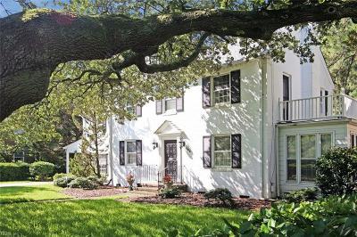 Norfolk Single Family Home For Sale: 503 Brackenridge Ave