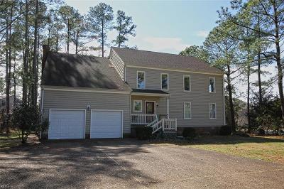 Poquoson Single Family Home For Sale: 113 Lawson Rd N
