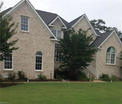 Poquoson Single Family Home For Sale: 6 Rivercrest Dr