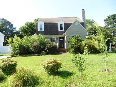 Poquoson Single Family Home For Sale: 8 Evans Grove Dr