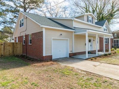 Norfolk Single Family Home Under Contract: 208 Glen Echo Dr