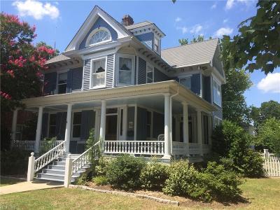 Hampton Single Family Home For Sale: 4605 Victoria Blvd