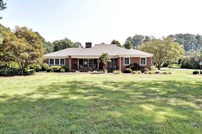 Newport News Single Family Home For Sale: 300 Riverside Dr
