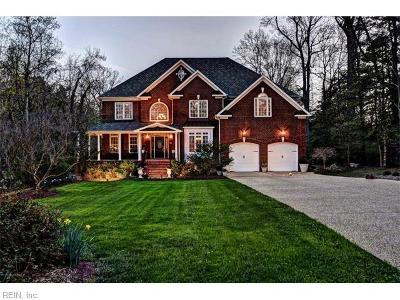 Newport News Single Family Home Under Contract: 101 McStay Ln