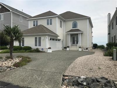 Hampton Single Family Home Under Contract: 24 Bay Front Pl