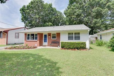 Norfolk Single Family Home Under Contract: 1021 Reel St