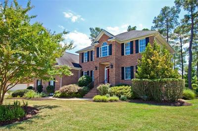 Poquoson Single Family Home For Sale: 95 Sandy Bay Dr