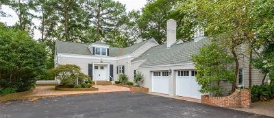 Norfolk Single Family Home For Sale: 6219 Powhatan Ave