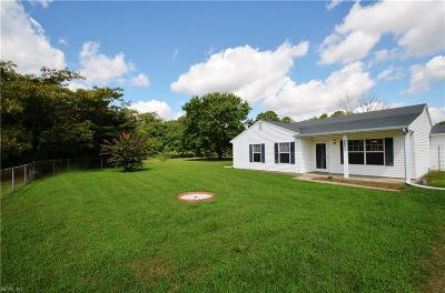 Gloucester County VA Single Family Home For Sale: $179,000