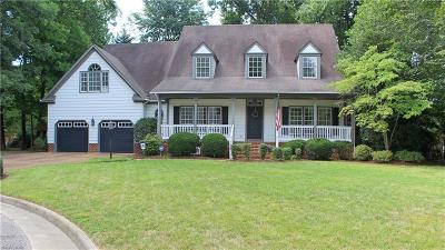 Newport News Single Family Home For Sale: 406 Green Tree Cv