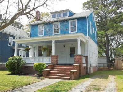 Portsmouth Single Family Home For Sale: 218 Broad St