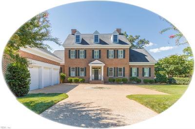 James City County Single Family Home For Sale: 204 Blackheath