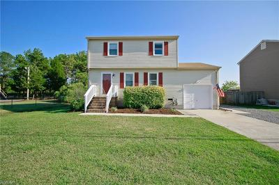 Poquoson Single Family Home For Sale: 134 Messick Rd