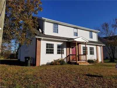 Poquoson Single Family Home For Sale: 1345 Poquoson Ave