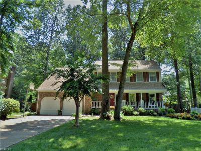 York County Single Family Home Under Contract: 125 Tuckahoe Trce