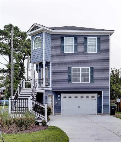 Poquoson Single Family Home Under Contract: 44 Lawson Rd S