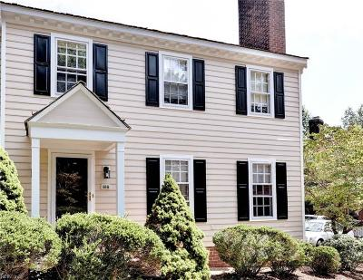 Williamsburg Single Family Home For Sale: 616 Counselors Cls