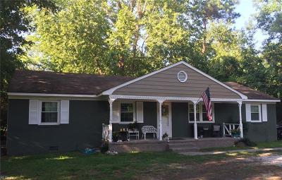 York County Single Family Home Under Contract: 1719 Yorktown Rd