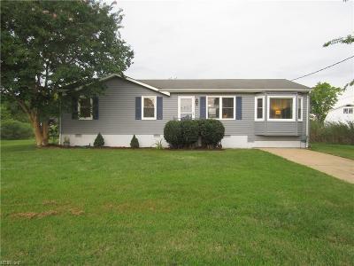 Poquoson Single Family Home For Sale: 5 Amos Cir