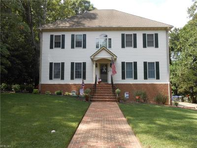 Newport News Single Family Home For Sale: 12913 Fitzhugh Dr