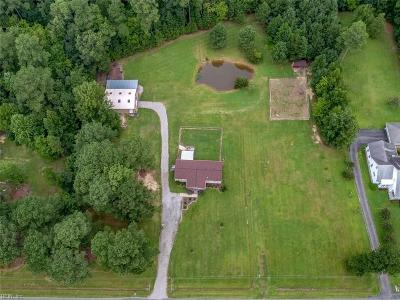Isle of Wight County Single Family Home Under Contract: 22357 Vellines Ln
