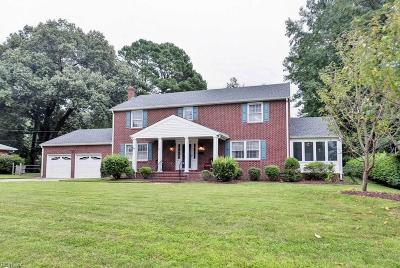 Newport News Single Family Home For Sale: 30 Jonquil Ln