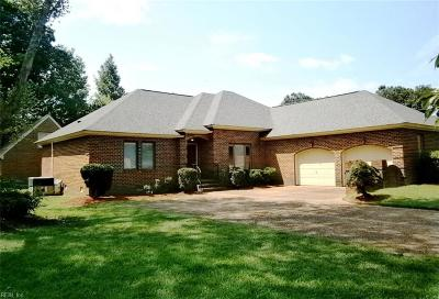Newport News Single Family Home For Sale: 101 Millers Cove Rd